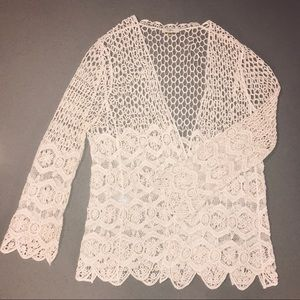 Crocheted Cover Up